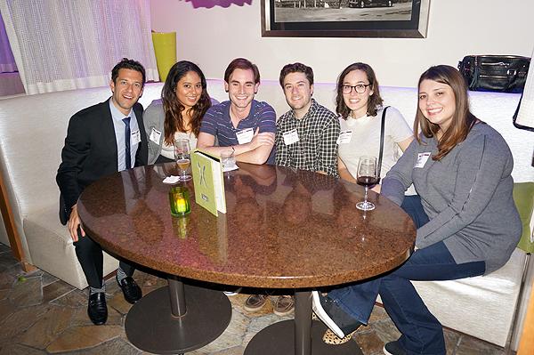(l to r): Corey Singer, Erini Mantis, Amin Osman, Jack Stanley, Allison Karic Erlikhman and Eva Darocha