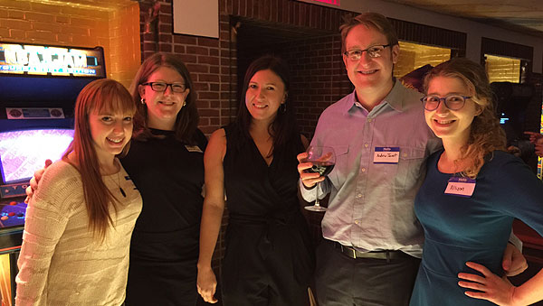 200+ Penn Alumni get festive at our NYC Holiday Happy Hour