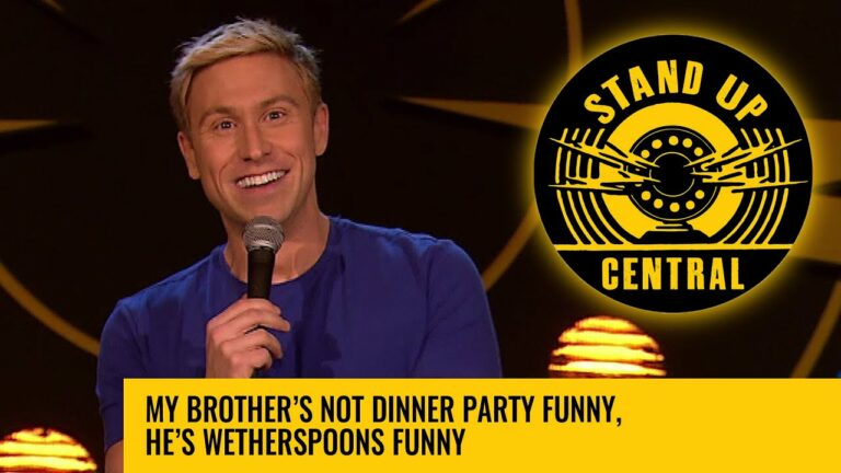 My brother's not dinner party funny, he's Wetherspoons funny