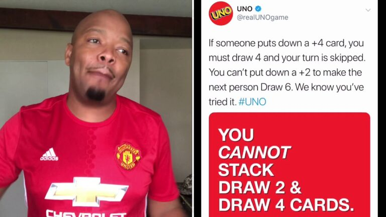How y'all gone tell Uno how to play UNO?! ??