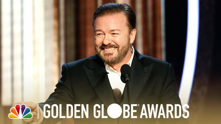 Ricky Gervais Monologue 2020 Golden Globes