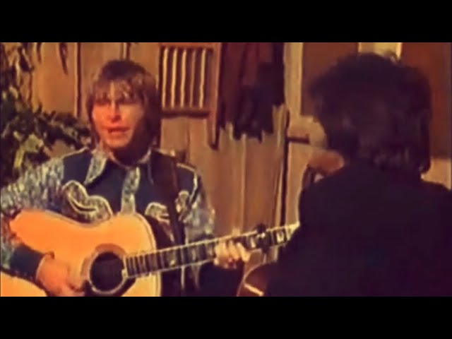 JOHN DENVER AND JOHNNY CASH COUNTRY ROADS RARE CLEAR FOOTAGE