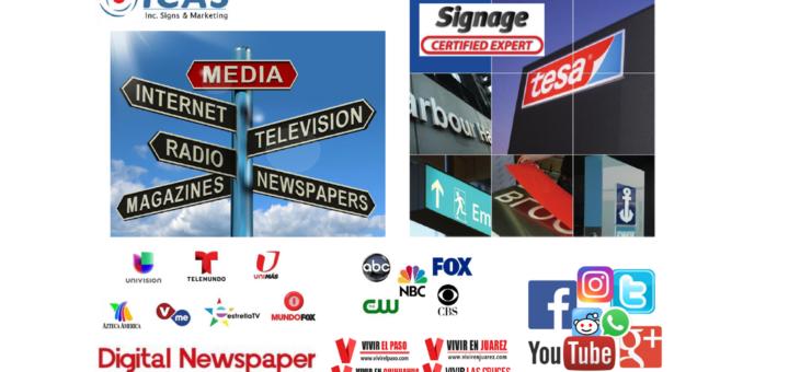 ICAS, Inc. Marketing & Signs