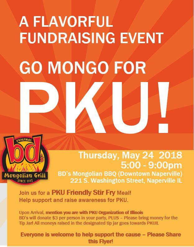 Go Mongo for PKU!