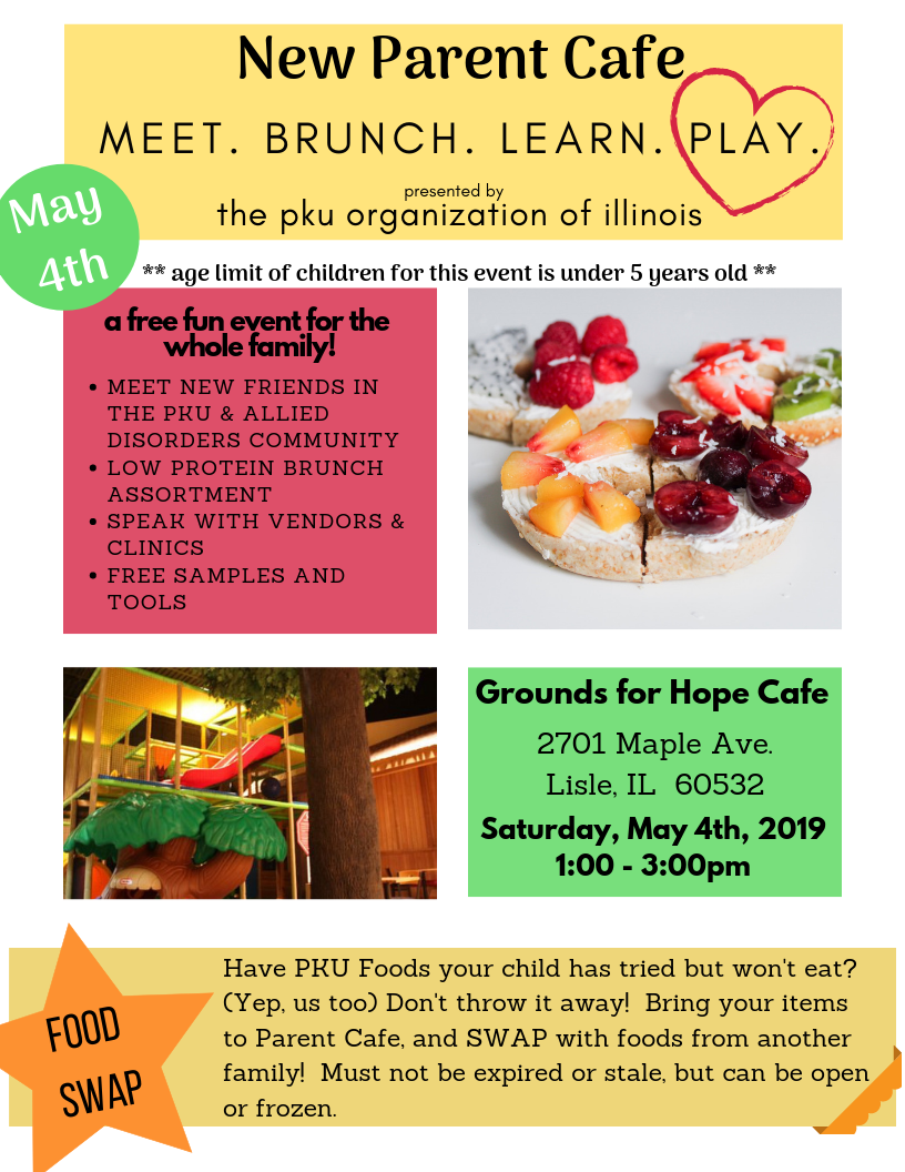 First Event of 2019 – New Parent Cafe!