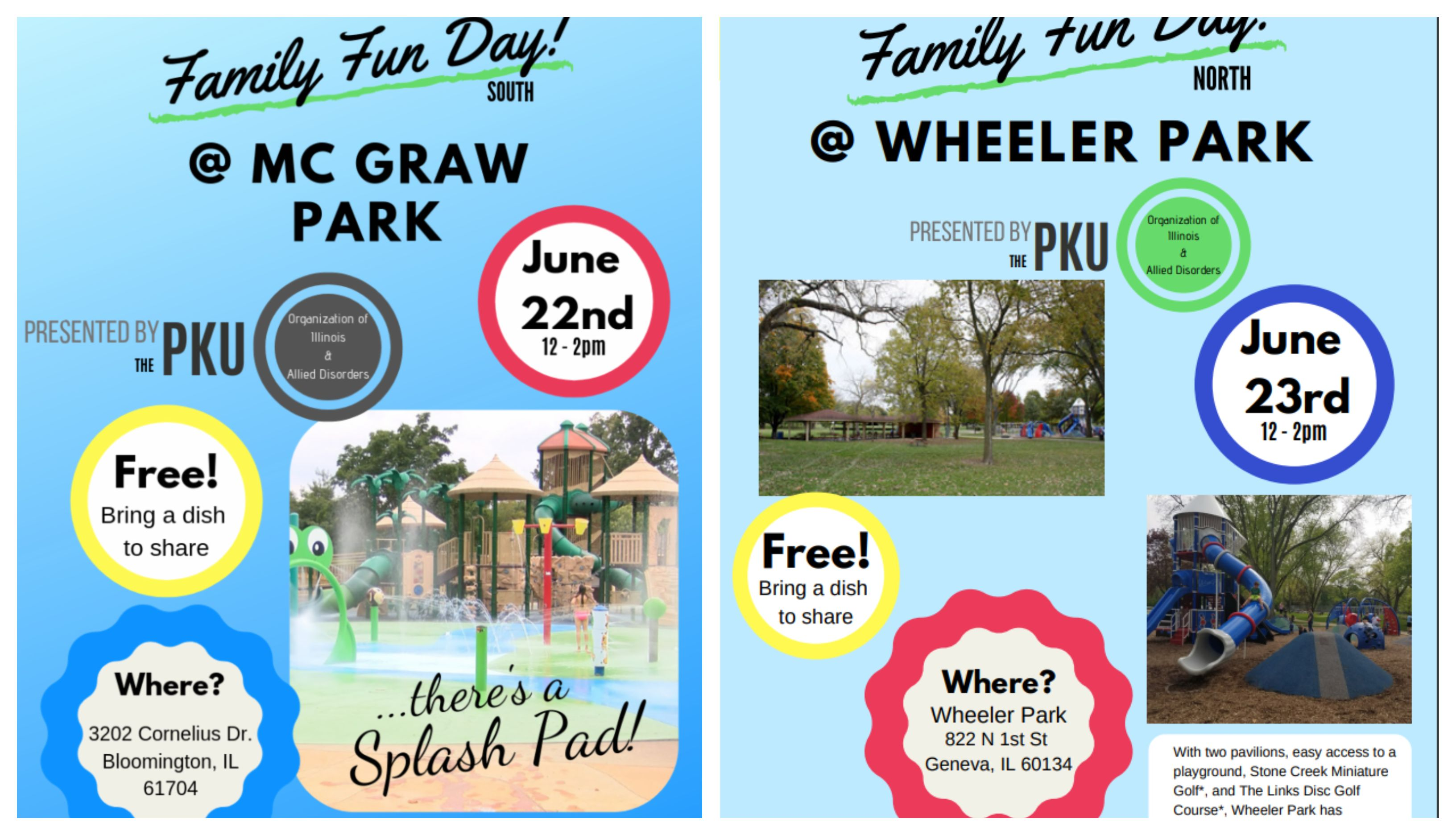 2019 Family Fun Day Flyers