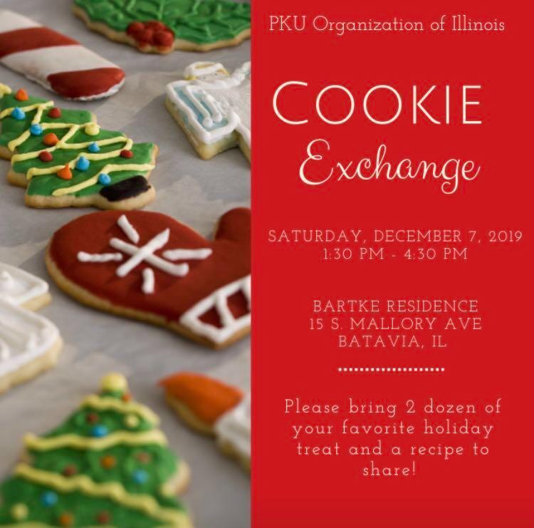 2019 Cookie Exchange Flyer