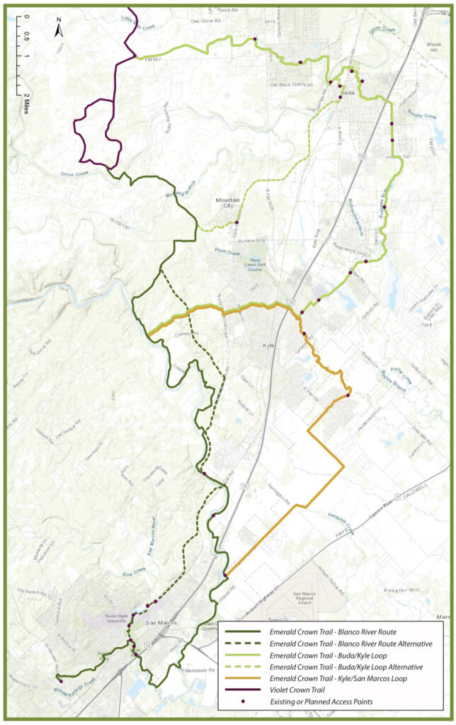 Emerald Crown Trail Gains Support