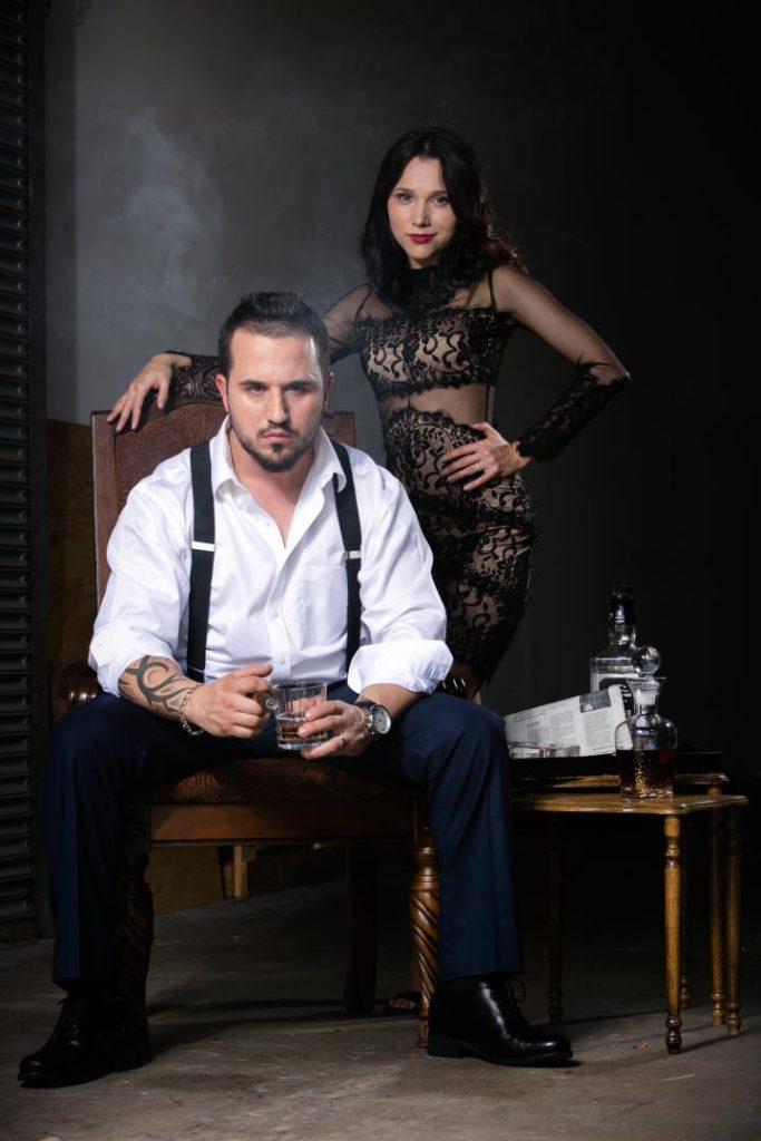 Mafia photoshoot