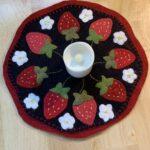 Strawberry Mat- MaryJean