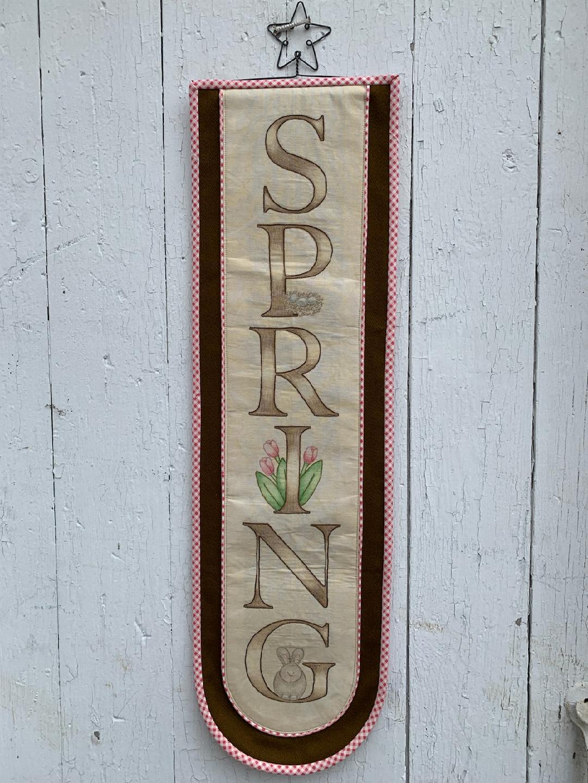 Spring Bell Pull