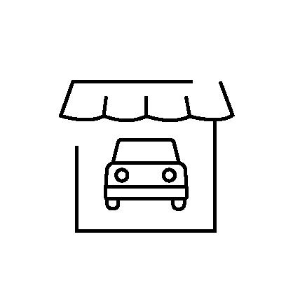 auto dealer insurance icon