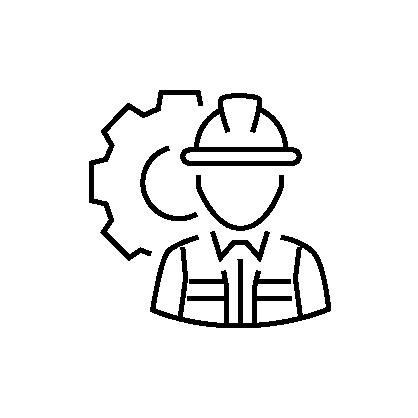 contractor insurance icon