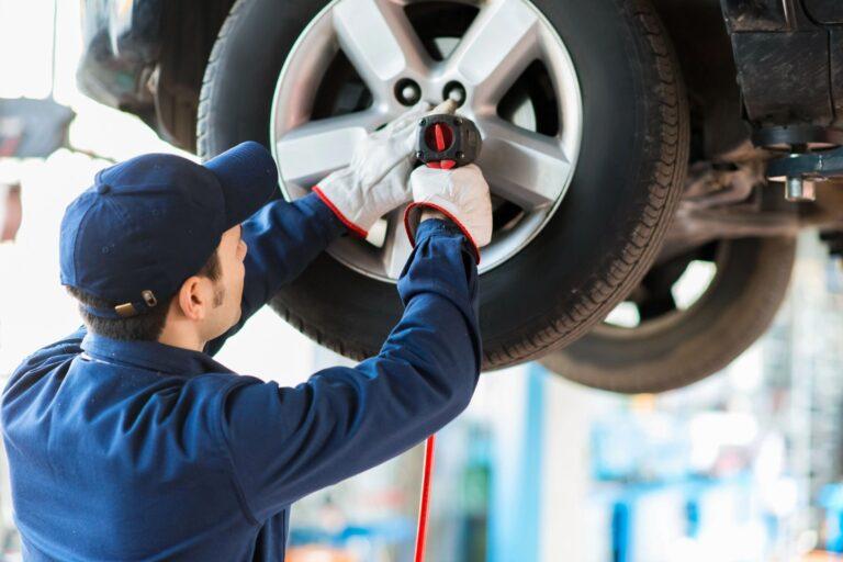 tire and brake repair shop