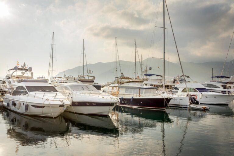 marinas and yacht clubs