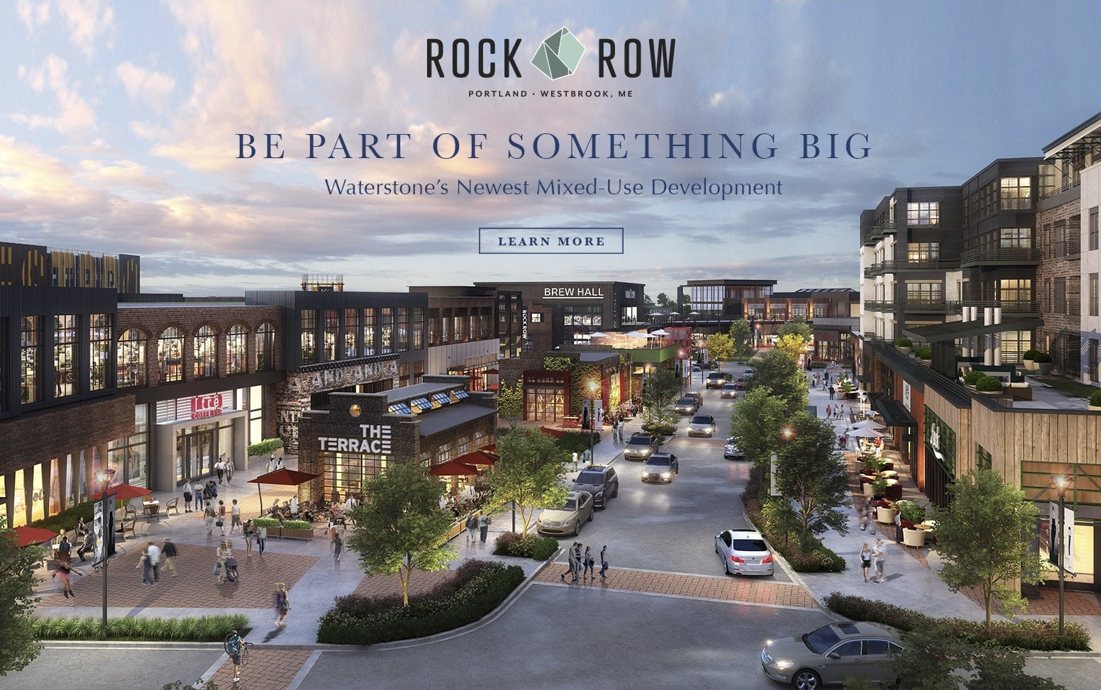 Rock Row - Be Part of Something Big
