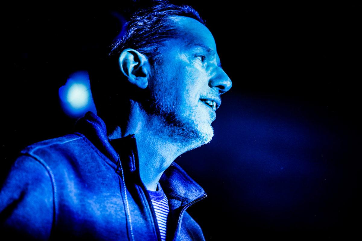 John Linnell In Blue Light