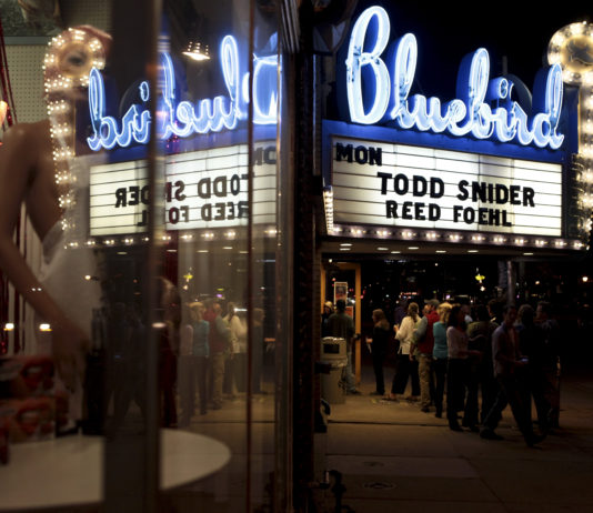 Todd Snider Bluebird Marquee