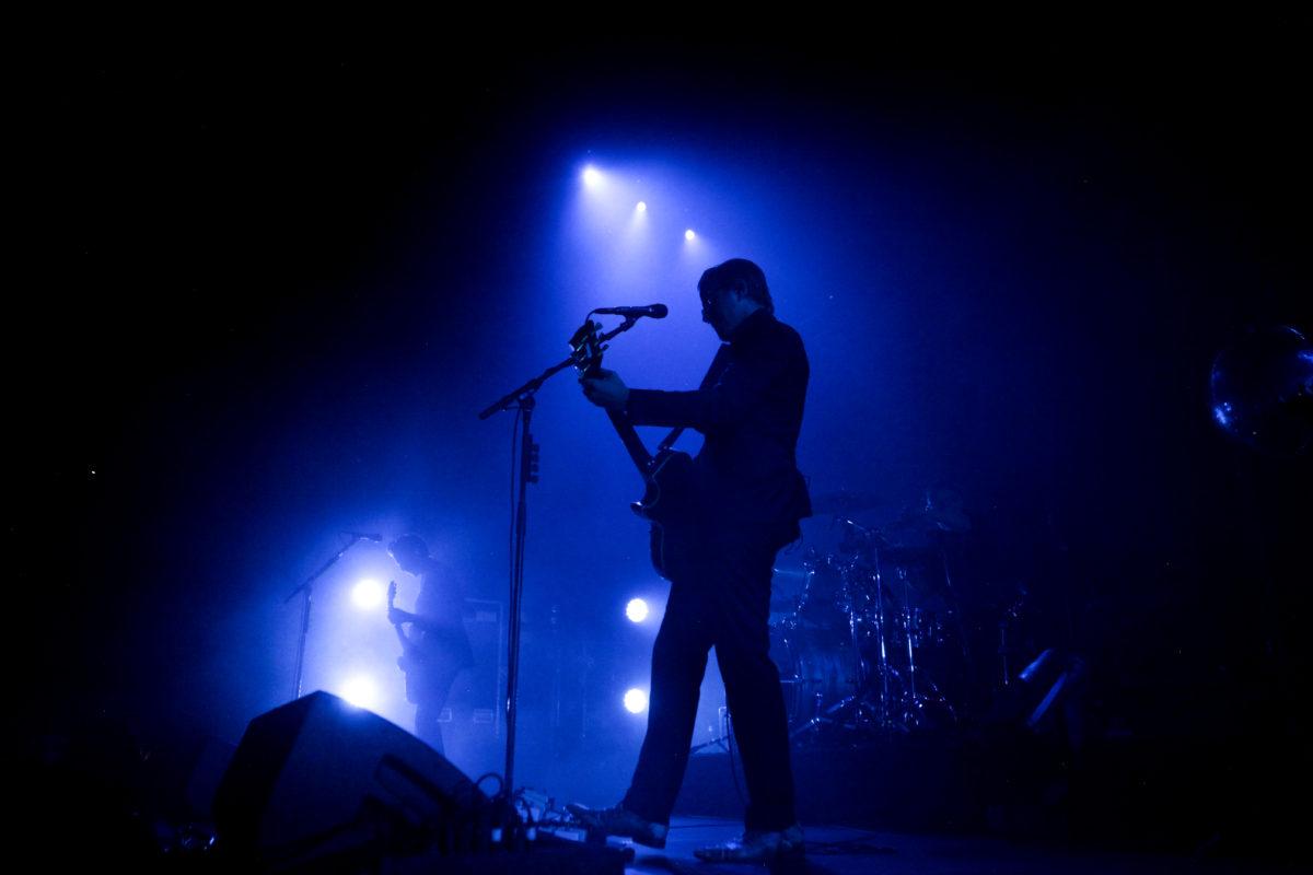 Paul Banks Under Blue Light In Denver