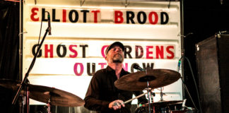 Stephen Pitkin Drumming at Hi-Dive