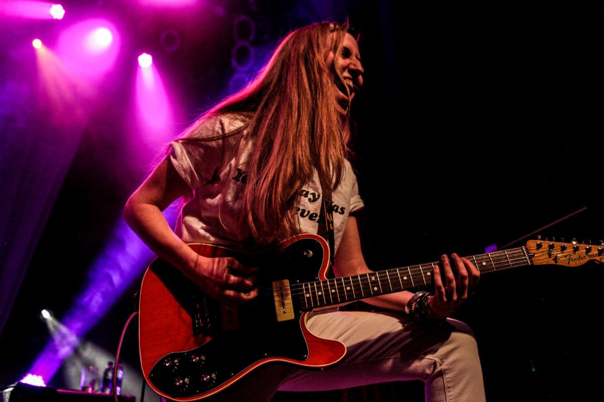 Guitarist at Kate Nash
