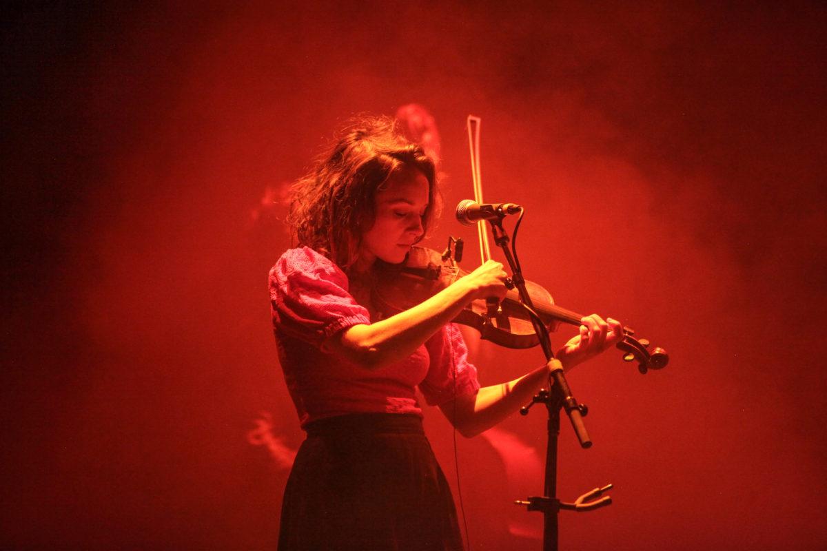 Emily Frantz on Violin