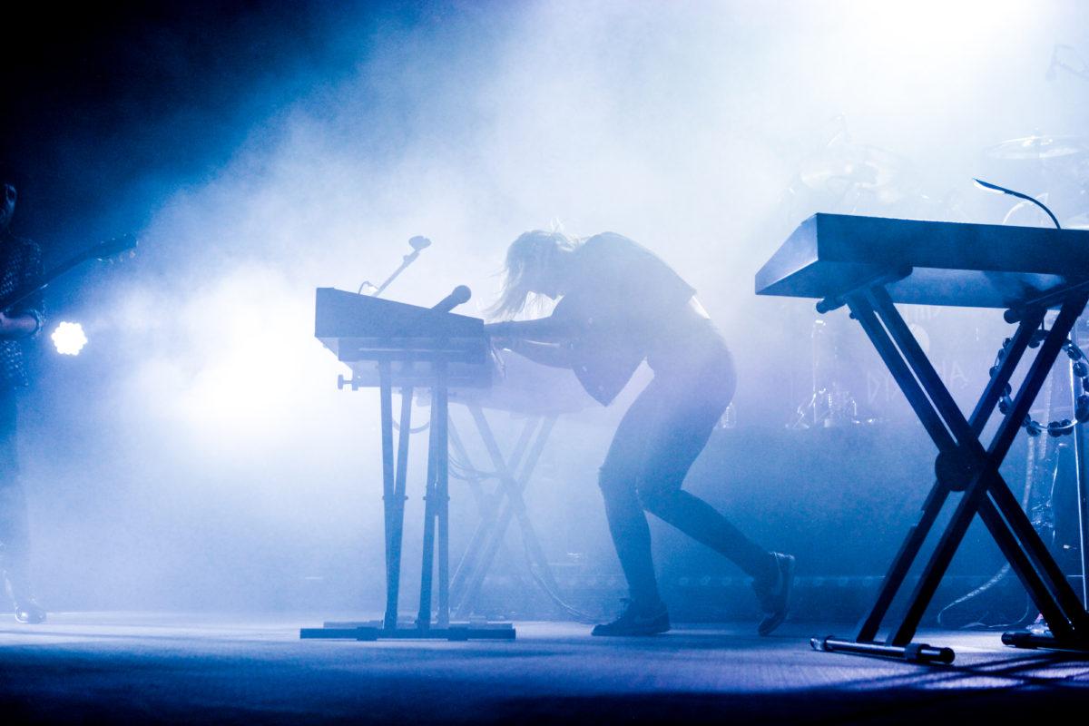 Emily Haines Rocking The Keyboard