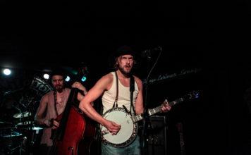 Herman Playing Banjo