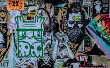 Wall Of Art In Seattle