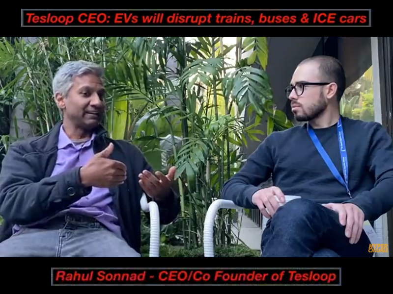 Tesloop CEO Rahul Sonnad talks to HyperChange