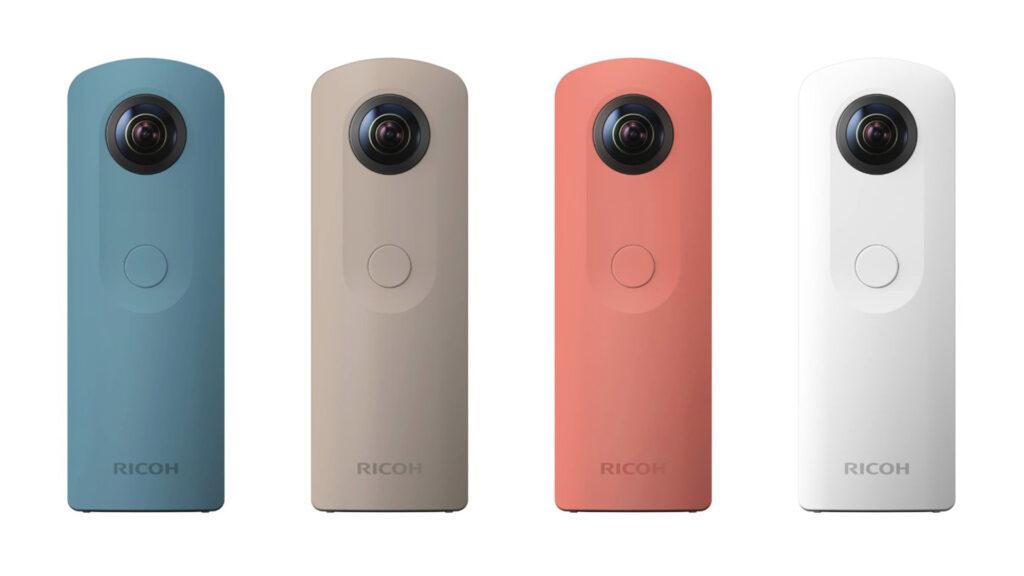 Mesmo modelo de câmera porém com outras cores