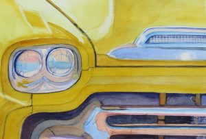 Aureolin Apache 11X15 Watercolor $395
