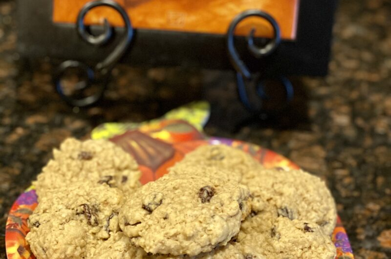 Back to Basics...Oatmeal Raisin Cookies