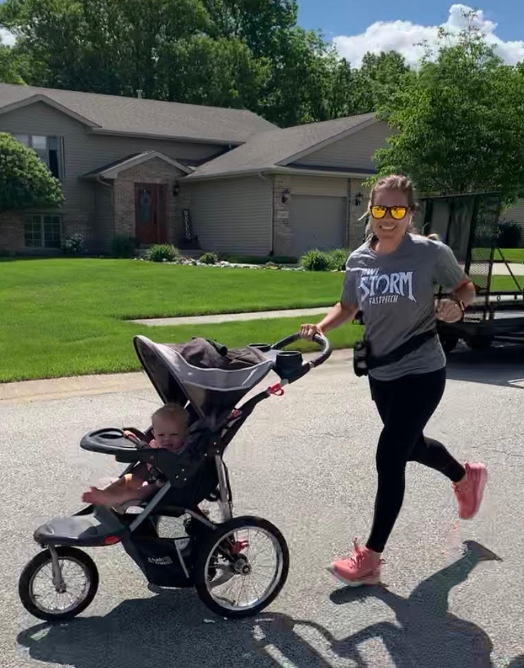 Runner Mom Katie Camus
