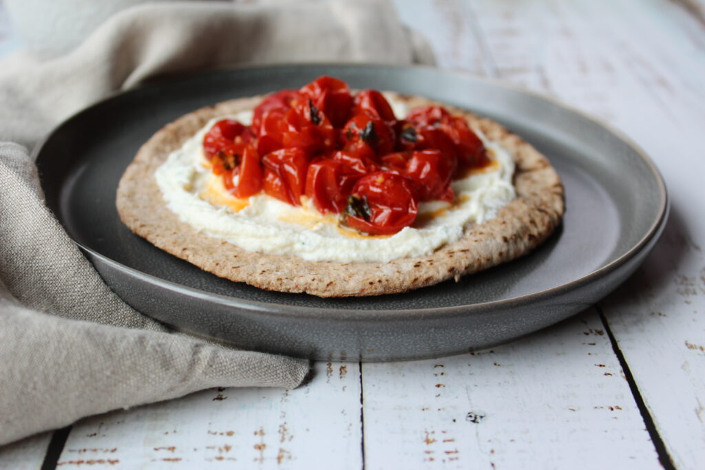 Roasted Tomato Ricotta Flatbread