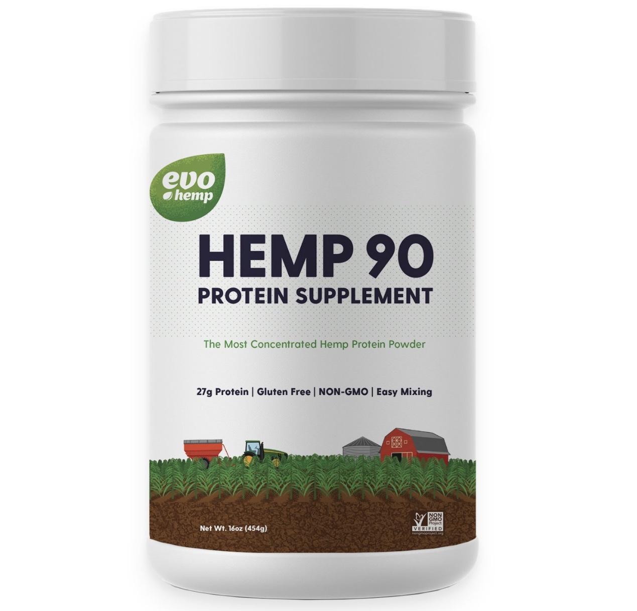 evo hemp, hemp 90 protein