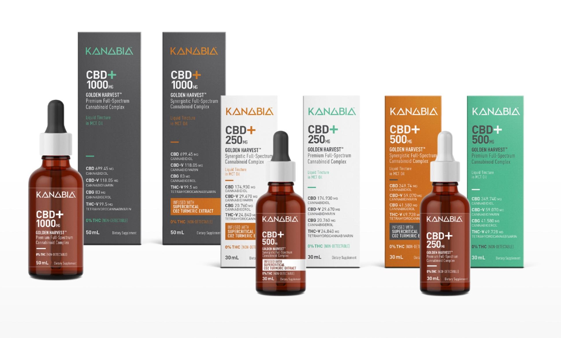 CBD+ supplements, tinctures