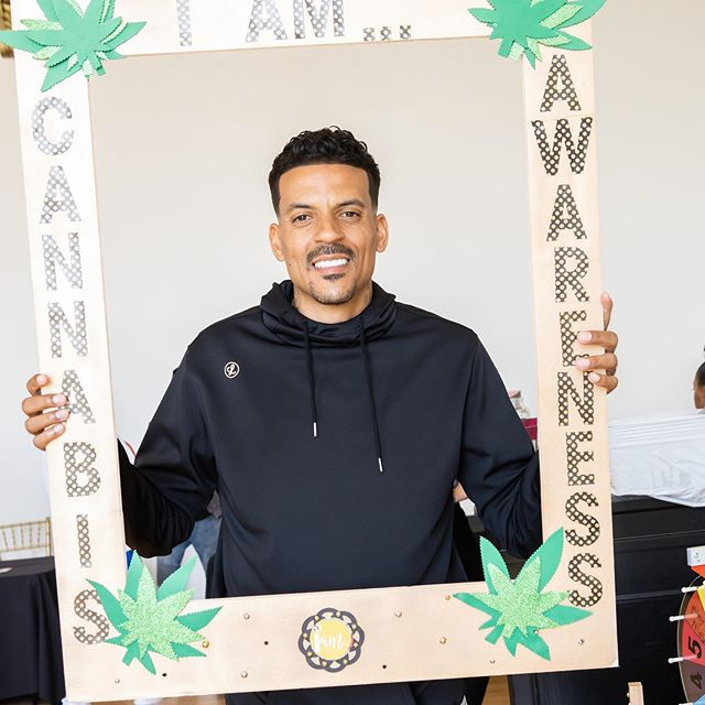 Matt Barnes, The CANNASPA Gifting Lounge Filled With Cool CBD Brands