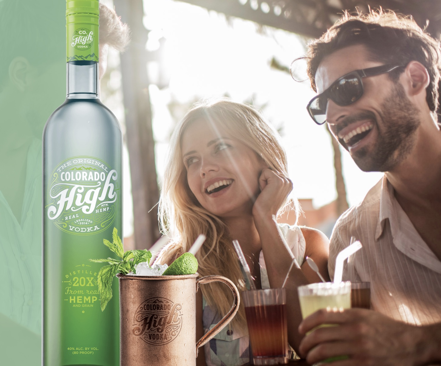 odka Colorado High Hemp Vodka