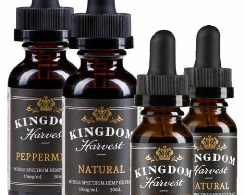 Kingdom Harvest All Natural Whole Spectrum Hemp Extract