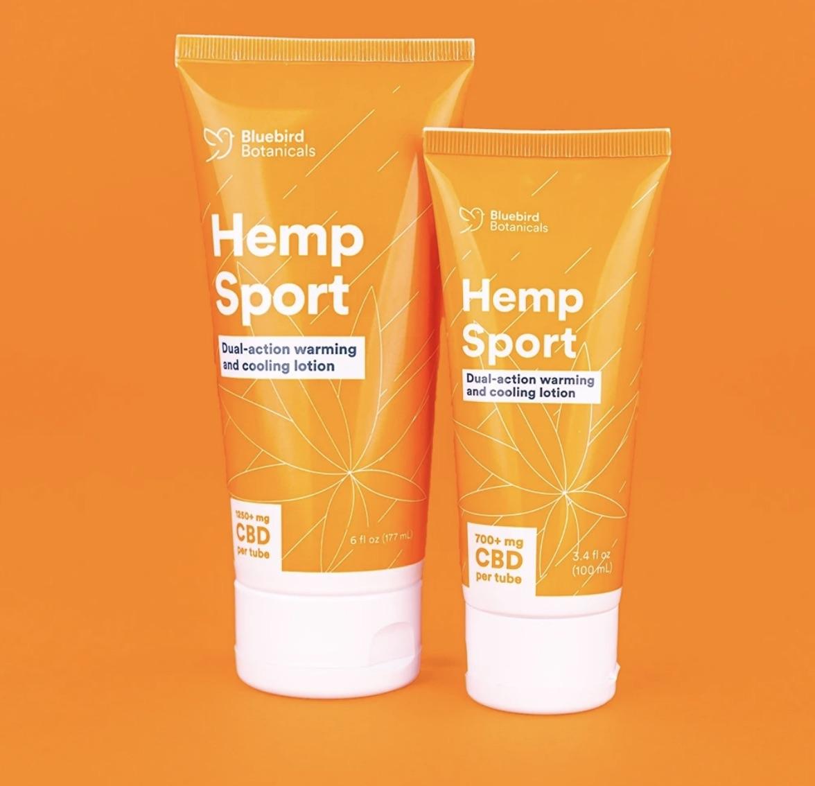 CBD sports lotion
