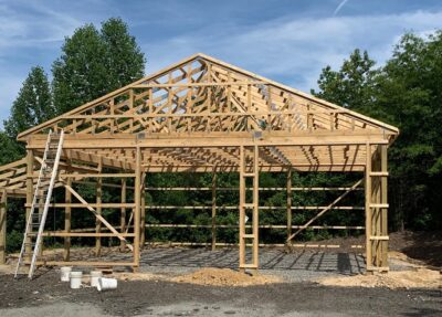FRAMING-garage
