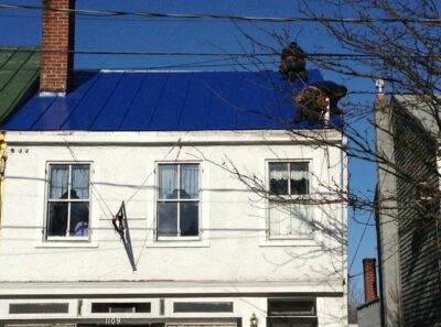 metal roofing replacement