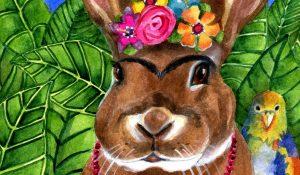 Famous Artist Inspired Rabbits