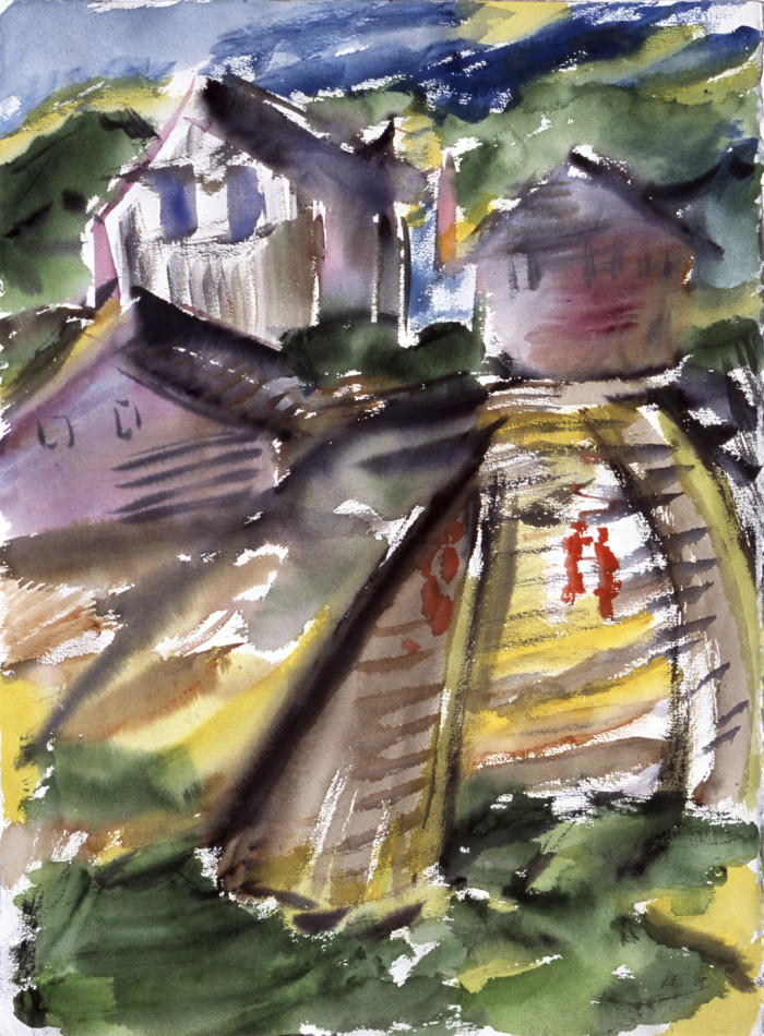 Houses on a Hill