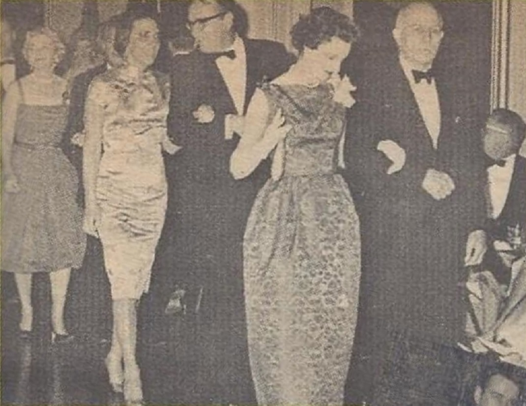 Holly Club Ball archive promenade