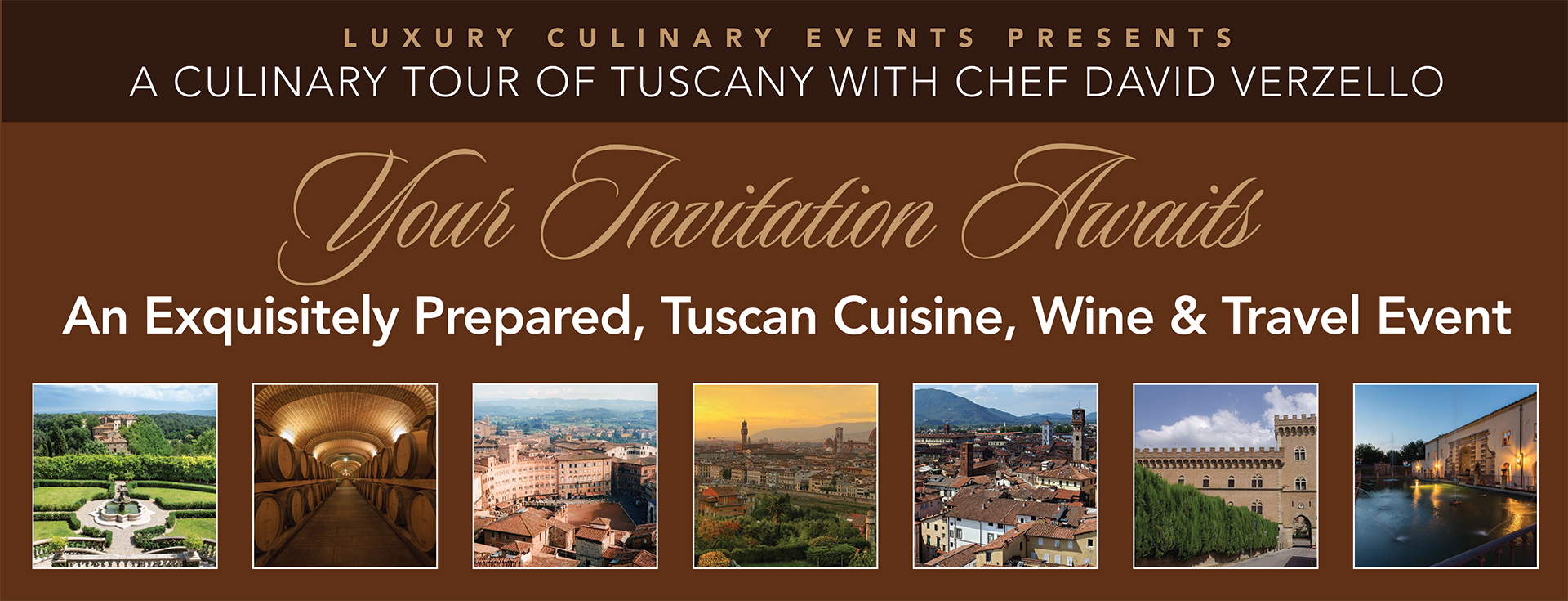A Culinary Tour of Tuscany April 27 – May 3, 2020