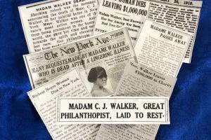 The Centennial of Madam C. J. Walker's Death – May 25, 1919