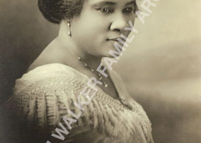 Madam Walker portrait from original MWFArchives