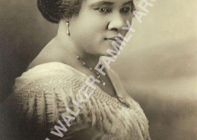 Madam Walker portrait from original MWFArchives